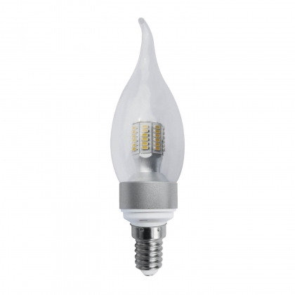 BOMBILLA VELA DECORATIVA E14 5W LED 3000K