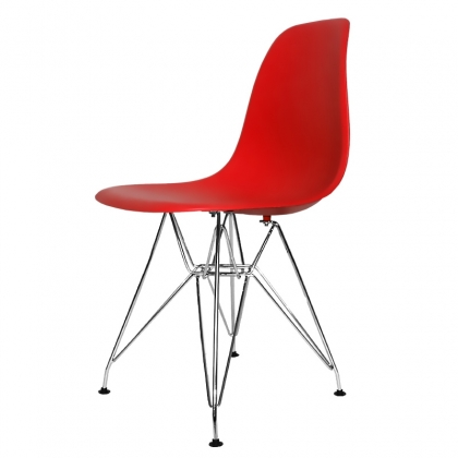 SILLA TOWER CHROME TOP QUALITY ROJA