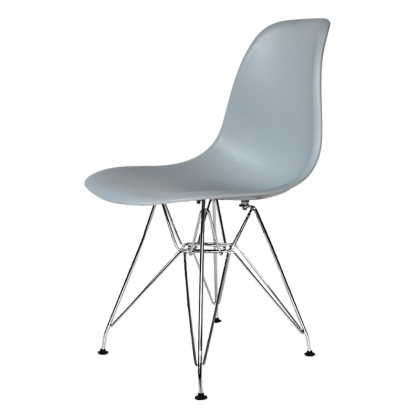 SILLA TOWER CHROME TOP QUALITY GRIS