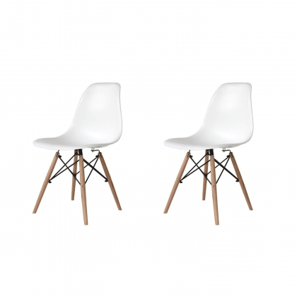PACK 2 SILLA TOWER BLANCA