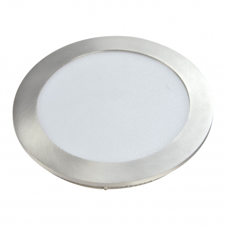 DOWNLIGHT LED SAGA 12W 4000K NÍQUEL