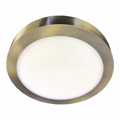 DOWNLIGHT SURFACE CIRCULAIRE LED 18W 4000K DORÉ