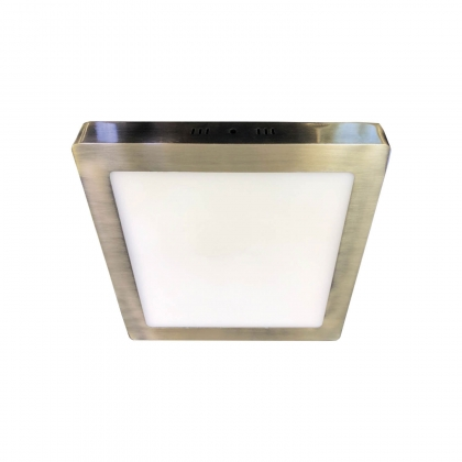 DOWNLIGHT SURFACE CARRÉE LED 6W 4000K DORÉ