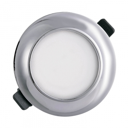 DOWNLIGHT LED CIRCULAIRE 9W CHROME