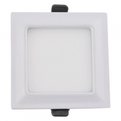 DOWNLIGHT LED CARRÉ 9W BLANC