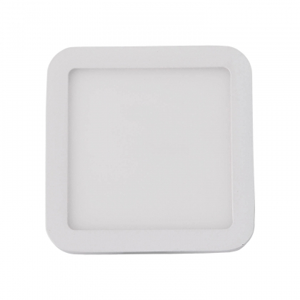 MINIDOWNLIGHT LED CUADRADO 6W BLANCO