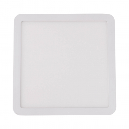 MINIDOWNLIGHT LED CARRÉ 9W BLANC