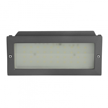 EMPOTRABLE EXTERIOR LED ALMEZ 6W 4000K ANTRACITA IP54