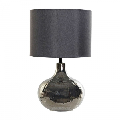 LAMPE DE TABLE DOROTEA VERRE MÉTAL BRILLANT E27