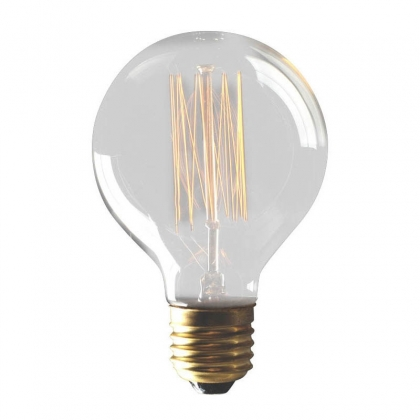 AMPOULE DECORATIVE SPHÉRIQUE INCANDESCENTE E27 40W