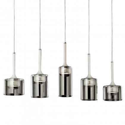 SUSPENSION LED 5 LUMIERES ALEN