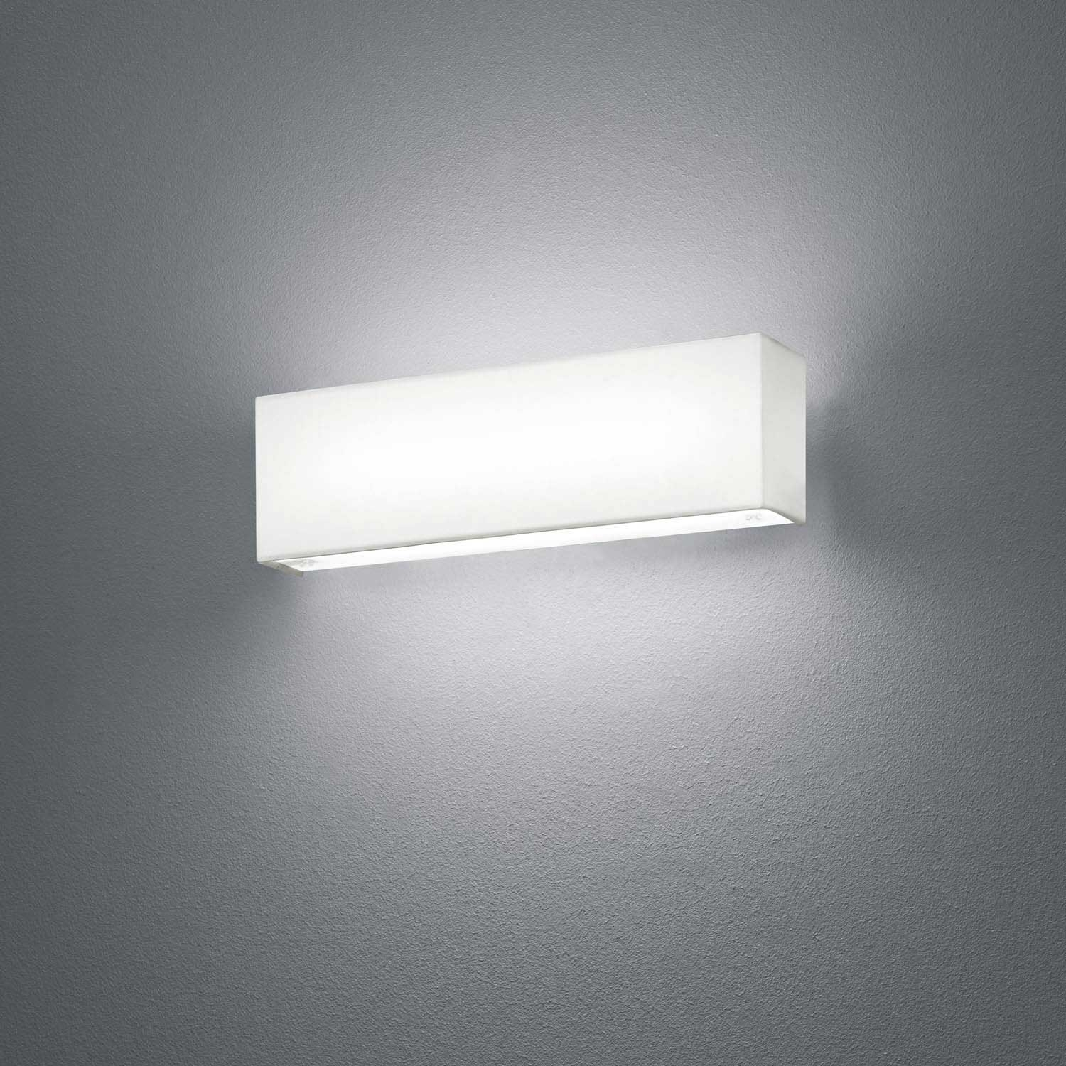 Aplique de pared led carlo 6w blanco for Apliques para escaleras de comunidad
