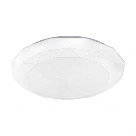 PLAFÓN LED ACRÍLICO HEXAGONAL 24W 4000K