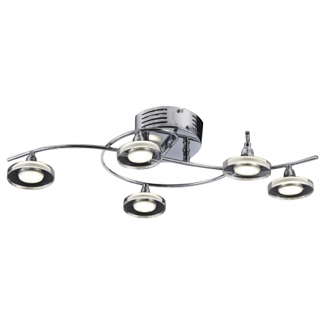 PLAFÓN LED 5 LUCES CAROL
