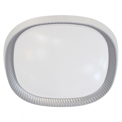 PLAFÓN LED RYAN 40W PLATA REGULABLE
