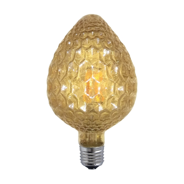 BOMBILLA CEREZA E27 LED 6W 2300K