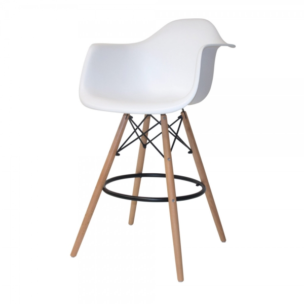 SILLON TABURETE TOWER BLANCO